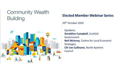 Community wealth building webinar for elected members