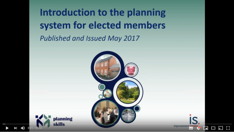 Elected member webinar on the planning system
