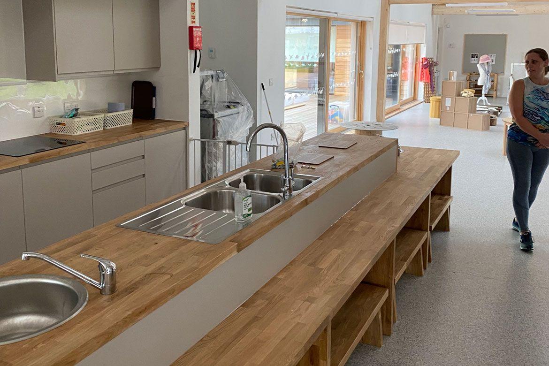 Kitchen at Strathisla Children's Centre