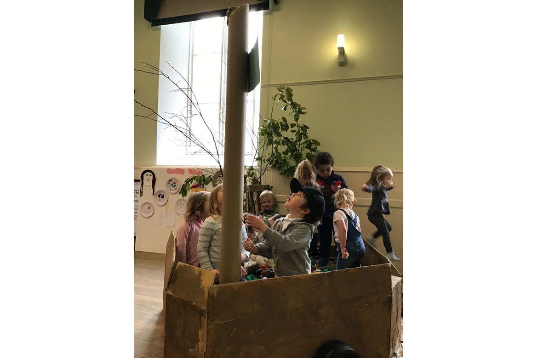 Children at Longmore Hall