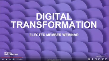 Elected Member webinar on digital transformation