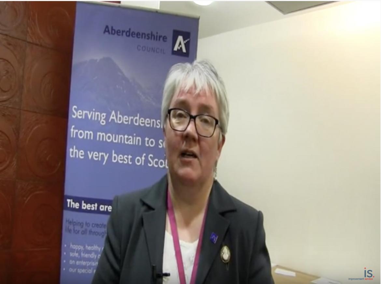 Susan Donald of Aberdeenshire Council talks about the Aberdeenshire Debt Conference