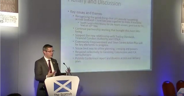 Derek Mackay's closing address at the Tackling Payday Lending and Gambling Summit
