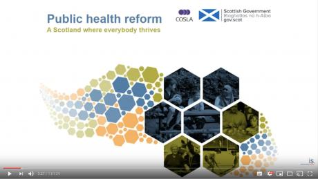 Elected Member webinar on public health reform
