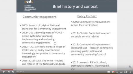 Elected member webinar on community participation