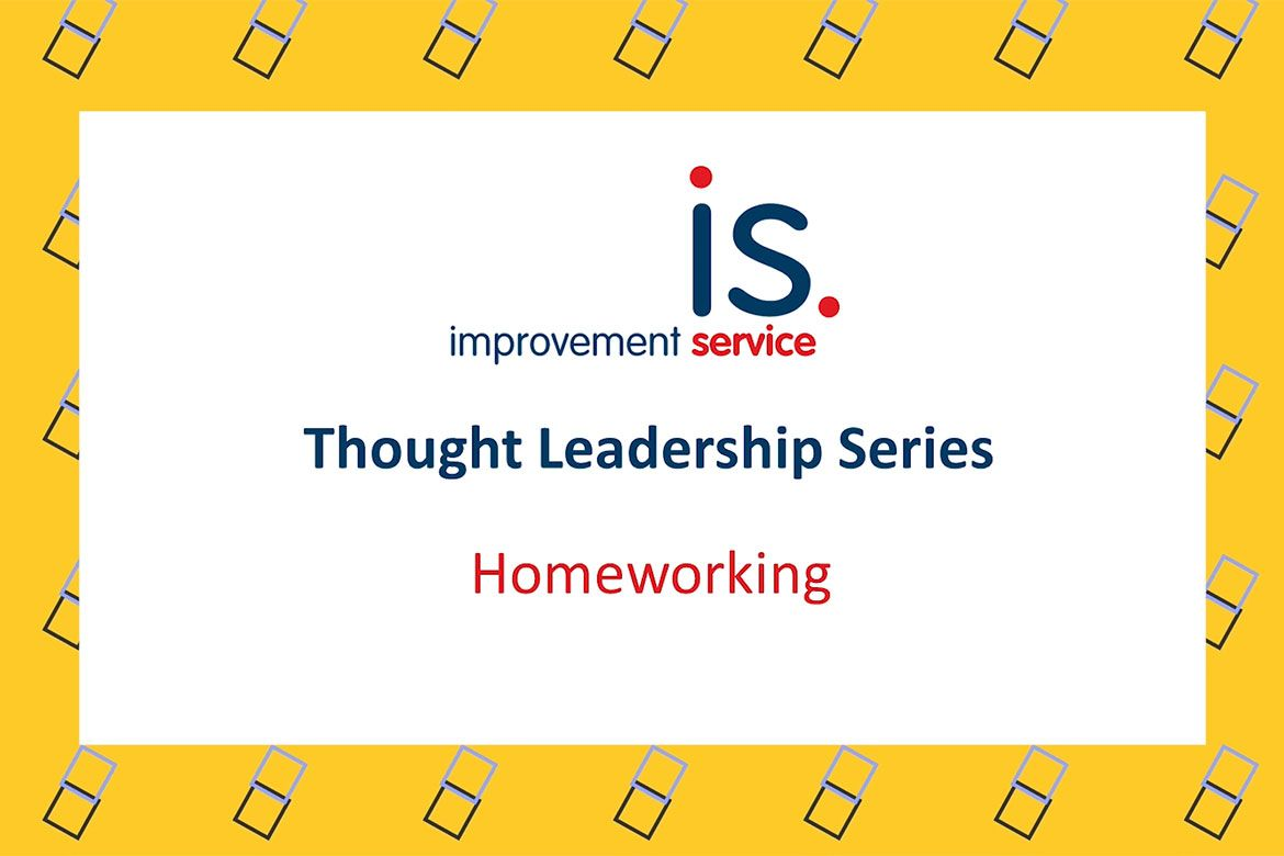 Poster from the Thought Leadership Series video on homeworking