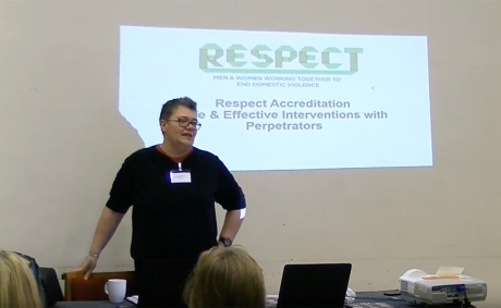 Respect accreditation workshop at the National Violence Against Women Network Conference