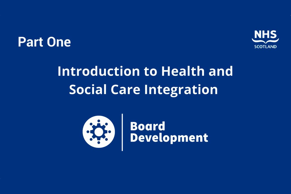 Introduction to health and social care integration, part one