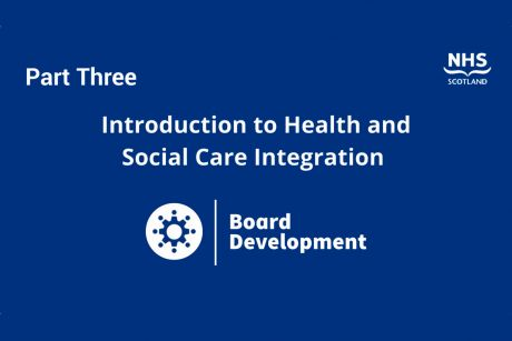 Introduction to health and social care integration, part three